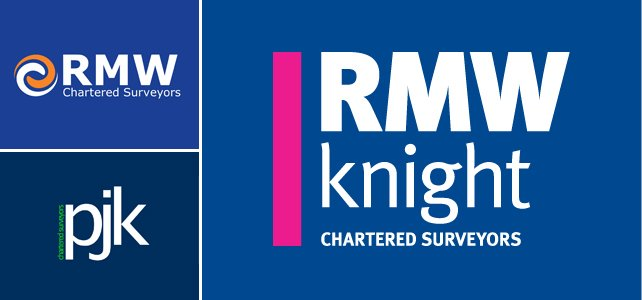Corporate identity for RMW Knight Chartered Surveyors