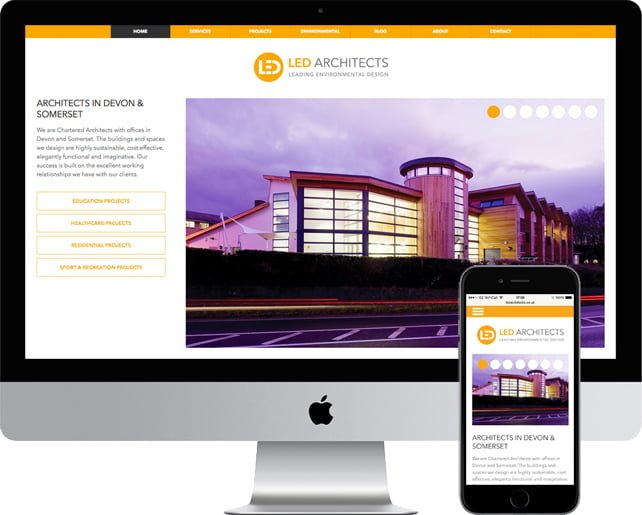 New architects website for LED