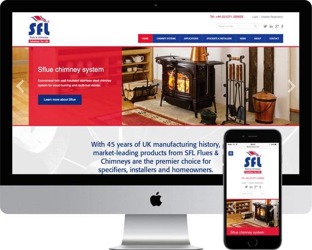 New trade website stacks up for SFL Flues & Chimneys